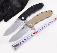 Wholesale Stainless Folding Utility Knife - Folding Knife ZERO TOLERANCE 0562 Double Ball Bearing Flipper Pocket Knife G10 Handle ELMAX Blade Utility Outdoor Camping Knife