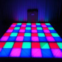 rgb liderou pistas de dança venda por atacado-RGB conduziu o painel do assoalho de dança que dança Dance Floor Stage Light Painel do disco 432pcsX10mm conduziu o assoalho de dança Disco KTV a iluminação do estágio claro