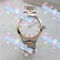 Wholesale Teddy Bear Clocks - Teddy Bear stainless steel New 5Color luxury products steel quartz clock watch women