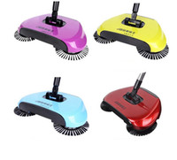 Wholesale Home Electricity - Magic Broom Sweeping Machine Without Electricity Push Type Household Sweeper Dustpan Set Floor Home Cleaning 3 in1 Dustpan Broom Mop KKA1675