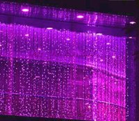 Wholesale LLFA4787 x3M LED Curtain Wedding party LED curtain icicle net Christmas lights home garden lamps outdoor led Fairy lighting waterproof