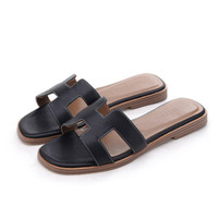 Wholesale Sexy Black White Shoes - New 2017 Summer Casual Shoes Women Sandals Fashion Brand Slippers Flats Good Quality Flip Flops Sexy Sandal Free shipping