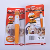 Elektrische Haustier Pediküre Nagel Trimmer Pet Nail Tools Schleifen Hund Nail Clippers Hund Grooming Machine Supplies AA