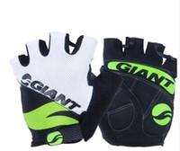 я перчатка оптовых-Велосипедные перчатки Велосипед гоночный автомобиль Mitts Многоцветный дышащий варежки Ударопрочный Mitt оборудование для унисекс мужчин и женщин 19yk I