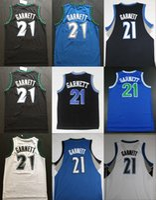 Wholesale Vintage Shirts Xxl - Throwback Kevin Garnett Rookie Basketball Jerseys 21 Kevin Garnett The Big Ticket Shirts Vintage Retro Black Stitched Mens Cheap Jerseys