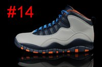 Wholesale Brazil Sale Shoes - hot sale RETRO 10 X CITY PACK RIO BRAZIL WOLF GREY mens Basketball Shoes 10s athletic Shoe with shoes box
