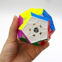 Wholesale Convex Plane - Newest Qiyi X-Man Galaxy Megaminx Sculpture Convex Concave Plane Cubo Magico Speed Cube Twist puzzle Juguetes Educativos Toys