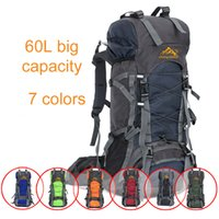 Wholesale 75l Outdoor Bag - 2017 hot sale backpack outdoor travel bag sports bag big capacity muti function waterproof camping hiking bag
