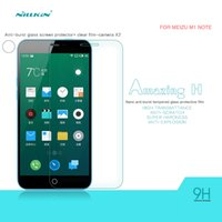Wholesale Charming Amazing - Original Nillkin Amazing H anti-explosion glass screen protective film for MEIZU The charm of blue note(M1 NOTE)with retail package