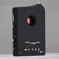 Wholesale bug detector finder resale online - 2 in Multi Function LDRF DT1 Camera Detector Audio Bug Finder GPS GSM Signal Lens Full Frequency RF Tracker