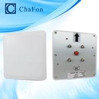Wholesale Antenna Reader - Wholesale- RFID manufacturer circular polarization 6.5dBi ABS middle range rfid reader uhf antenna used for shopping malls
