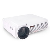 Wholesale led projektor full hd - Wholesale-HTP Smart 5500 Lumens wifi led projector full hd support 1080P 3D projetor home theater TV lcd beamer projektor Proyector