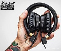 Wholesale Headphones Dj Dhl - New Arrival Marshall Major II 2 2nd Generation Headphones Noise Cancelling Headset Deep Bass Studio Monitor Rock DJ HiFi headphone DHL