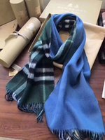 Wholesale Fl Green - Product Name: Luxury Brand Winter LOGOMANIA SHINE Scarf Women and Men 100% Two Side Black Red Wool Scarf Fashion Women 2017 Designer Warm Fl