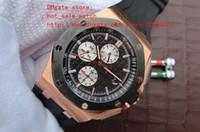 ingrosso fornitori di movimento orologio da quarzo-Fornitore di fabbrica quadrante nero cassa in oro 18k ultima versione Orologio al quarzo giapponese di lusso con movimento al quarzo