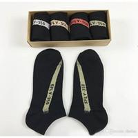 Wholesale Men Swim Shorts Sale - Hot Sale 350 V2 Short Athletic Socks 4 Colors SPLY - 350 Men Women Soft Black Cotton Socks with Box Free Size Best Gift Hot Sale