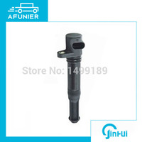Wholesale Fiat Ignition - 12 months quality guarantee Ignition coil for FIAT,CHAMPION BAE 403C,MAGNETI MARELLI BAE403COE No.46777288