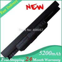 Wholesale Asus A32 K53 Battery - Wholesale-NEW battery pack A32-K53 for ASUS A53E A53S A43S A54C K53SV X53U X54H notebook C