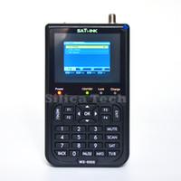 спутниковые датчики оптовых-Оригинальный Satlink ws-6906 DVB-S FTA цифровой спутниковый Искатель метр