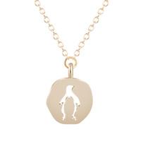 Wholesale animal cutouts for sale - Group buy 10pcs Fashion Pendant Necklace Cutout Lovely Penguin Animal Necklaces Pendants For Women Statement Jewelry