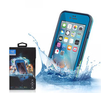 Wholesale Best Waterproof Phone Cases - Best Quality Waterproof Shockproof Snowproof Dirt Snow Proof Phone Case For Iphone 6 4.7 Retail Package 4 different colors