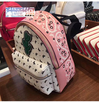 Wholesale Leather Fashionable Backpacks - The European and American new female backpack mini fashionable schoolbag leather leisure pack