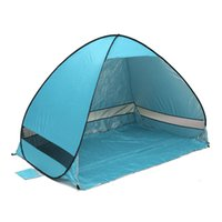 Wholesale Sun Shade Beach Tent - Quick Automatic Opening beach tent sun shelter UV-protective tent shade lightweight pop up open for outdoor camping fishing