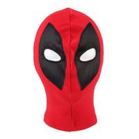 Wholesale deadpool costume women for sale - New Deadpool Masks Balaclava X Men Halloween Costume Hood Cosplay Full Face Mask One Size Fit Most Adult Men or Women