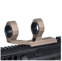 Précision Ultralight 25.4mm / 30mm Extended Optic Scope Mount Tactical Rings Fit 19mm 20mm 21mm Rail With Bubble Lever