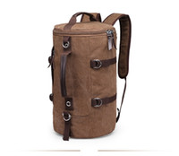 Wholesale Hiking Backpack Canvas - Local Lion Brand New Professional Waterproof Canvas Travel Backpack Outdoor sporting Hiking Camping Double shoulders backpack For Men
