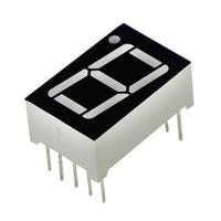 Wholesale Digital Segment - Wholesale- 0.56inch 1bit Common Cathode Digital Tube Red LED Digit Display 7 Segment 0.5inch 0.5 0.56inch 0.56'' 0.56in