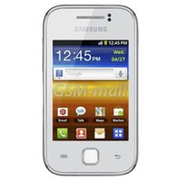 Wholesale Galaxy Y Phone - Original Refurbished SAMSUNG GALAXY Y(S5360) 3.0 inch 240x320 180MB RAM 290MB ROM microSD up to 32GB Smart Phone Free DHL