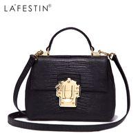 Wholesale Real Leather Handbags Designer - Handbags Women Designer Real Leather Shoulder Luxury String Totes Multifunction Bag bolsa