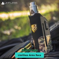 Wholesale Dual Arm - Original Limitless Arms Race Mod 200W LMC TC Box Mod Dual 18650 Series Setup VS Smok Alien 220w   Ijoy Captain PD270
