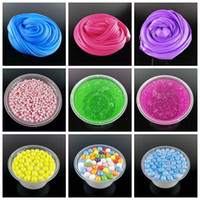 Wholesale Diy Toys For Kids - diy Fluffy Foam crystal Slime Scented Play Dough Kids Stress Relief Sludge Toy Cotton Mud Plasticine Modeling Clay for Children Gift