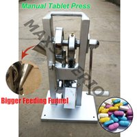 Wholesale Single Punch Machine Tablets - TDP-0 Manual Single Punch Die Stamp Pill Press Maker tdp0 Tablet Press Machine with One Free Mold