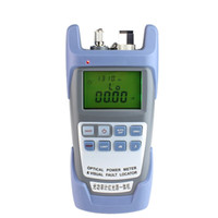 Wholesale Visual Source - 2 IN 1 Fiber Optic Power meter with 5km Laser source Visual Fault locator 9A-1mw