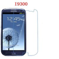 Wholesale Mirrored Screen Protector S4 - For Samsung Galaxy S2 i9100 S3 i9300 S4 i9500 S5 i9600 S6 G9200 Tempered Glass phone film Phone Protective Phone film touch screen protector