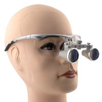 Wholesale Dental Headband Loupes - 3.0x Magnification Professional APD Loupes with Headband Mounted LED Head Light for Dental, Surgical, Jeweler, or Hobby Surgical Magnifier