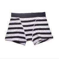 Wholesale Hot Kids Panties - hot sell European brand Tissala striped boys trunk boxers kids shorts child panties cotton pants children underwear briefs size 2-16Y 4pcs L