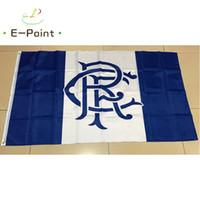 ingrosso bandiere scozia-Scotland Rangers FC 3 * 5ft (90cm * 150cm) Poliestere SPL bandiera Banner decorazione casa volanti giardino bandiera Regali festivi