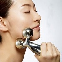 Wholesale 3D Face Lifting Rollery Massager Thin Face Degree Massager ABS Facial Massager Lifting and Firming Portable