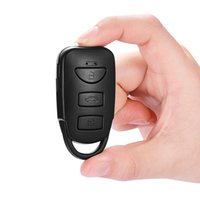 Wholesale Hide Key Camera - New HD camera mini camcorders HD 1080P Spy car keychain Cameras hidden recorder support 32G Micro TF Card key chain listen device