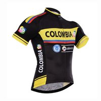 Wholesale 2017 Tour de France Colombia team cycling jersey MTB Ropa Ciclismo cycling wear