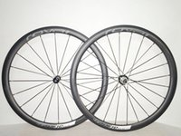 Wholesale Carbon Fiber Clinchers - 38mm ROVAL CLX40 Carbon fiber clincher bike wheelset 700c bicycle wheels R36, R13, A291 UD MATTE