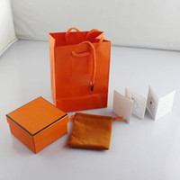 Wholesale Gift Box Bracelet Card - Branded famous brand CDCH bracelet with original bags cards jewelry gift box free shipping