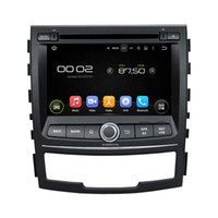 telefone celular android venda por atacado-Frete grátis Android 5.1 Car DVD player para SsangYong Korando com Tela de 7 polegadas HD, GPS, Controle de volante, Bluetooth, rádio