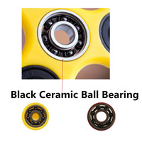Wholesale Black Ceramic Ball Bearing Si3N4 Model Size mm For EDC Fidget Finger Hand Spinner GyroToy Replaceable Bearing