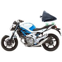 bolsa trasera de moto al por mayor-Moto Asiento Trasero Cola Trasera Sillín Bolsa Paquete Hombro Bolso de mano Impermeable para Motrocycle Paquete de Accesorios de Viaje
