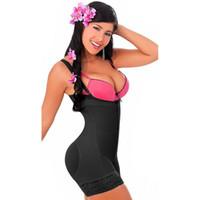 Wholesale Strapless Underwear Slim - Women Strapless Girdles Lace Hem Bodyshaper Underbust Slimming Waist Trainer Tummy Control Underwear Butt Lifter Zipper Body Shaper